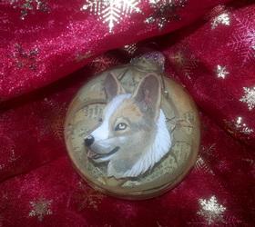 Corgi Ornament! Sale ends Saturday!