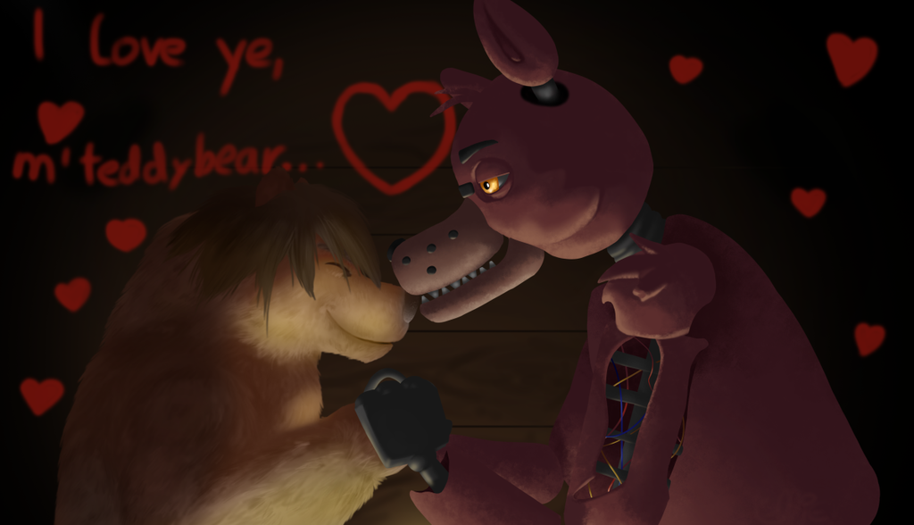 Foxy and Jim~ [Render]