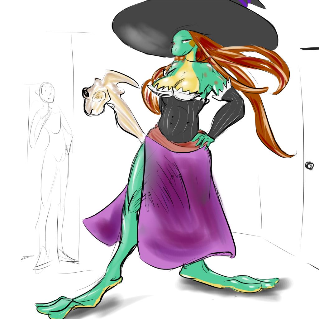 Amazon Frog Sorceress