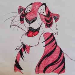 Sketch of Shere Khan