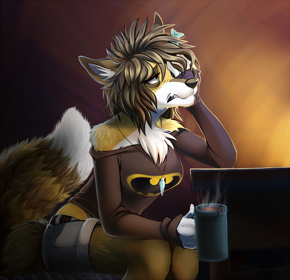 Featured image: Commission: Topazfox