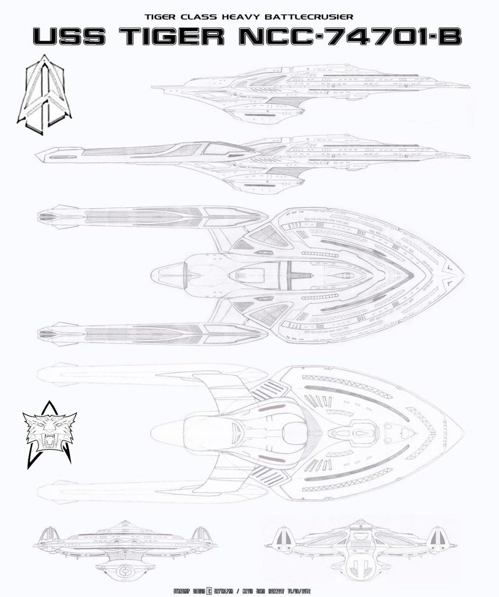 USS TIGER NCC-74701-B