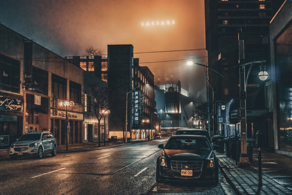 Most recent image: Windsor Downtown In The Fog
