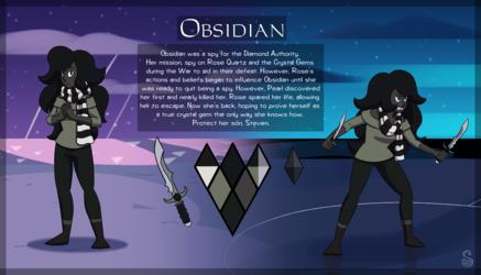 Commission: Obsidian
