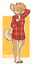 Doge in a shirt