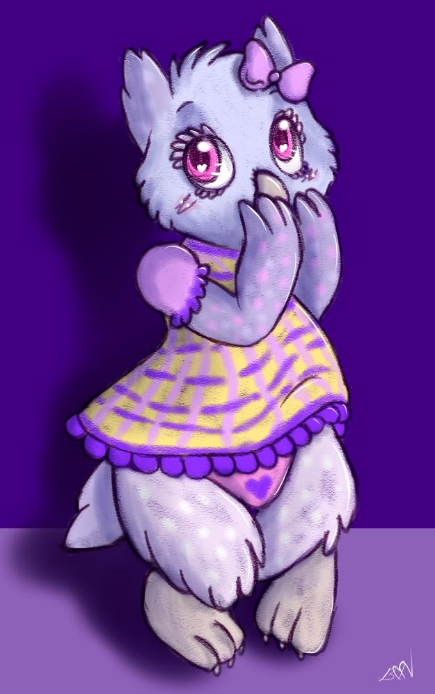 Lil' Owl in the Dark