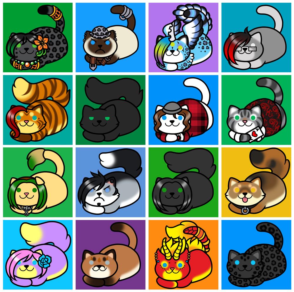 Neko Atsume Icons - Batch 1