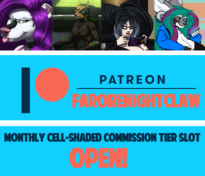 MONTHLY COMMISSION SLOT OPEN!