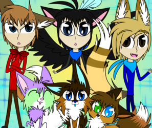Characters and me!