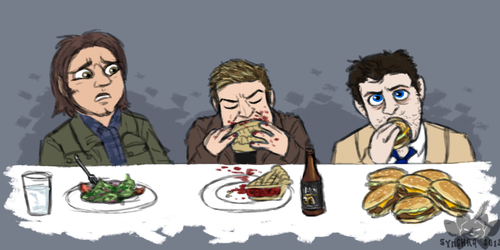 Dinnertime With Supernatural