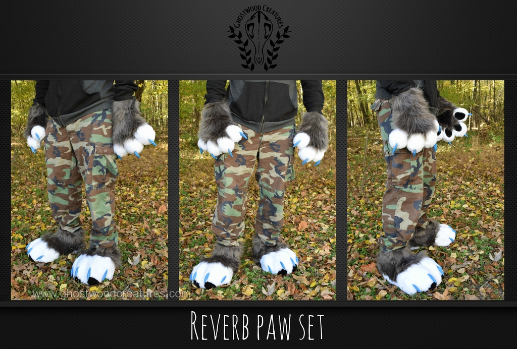 Most recent image: [//Commission] Reverb Paw Set