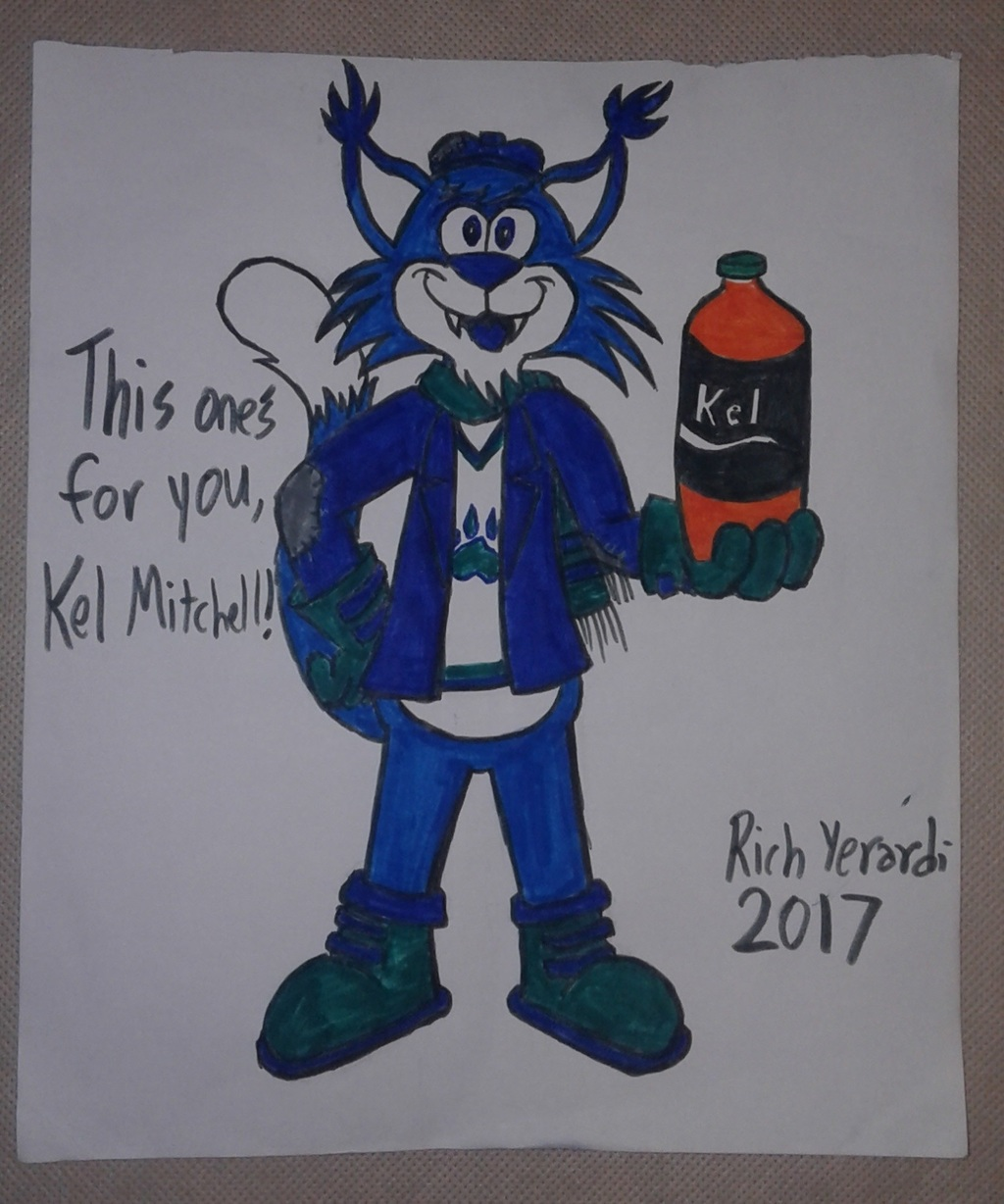 Gift Art For Kel Mitchell