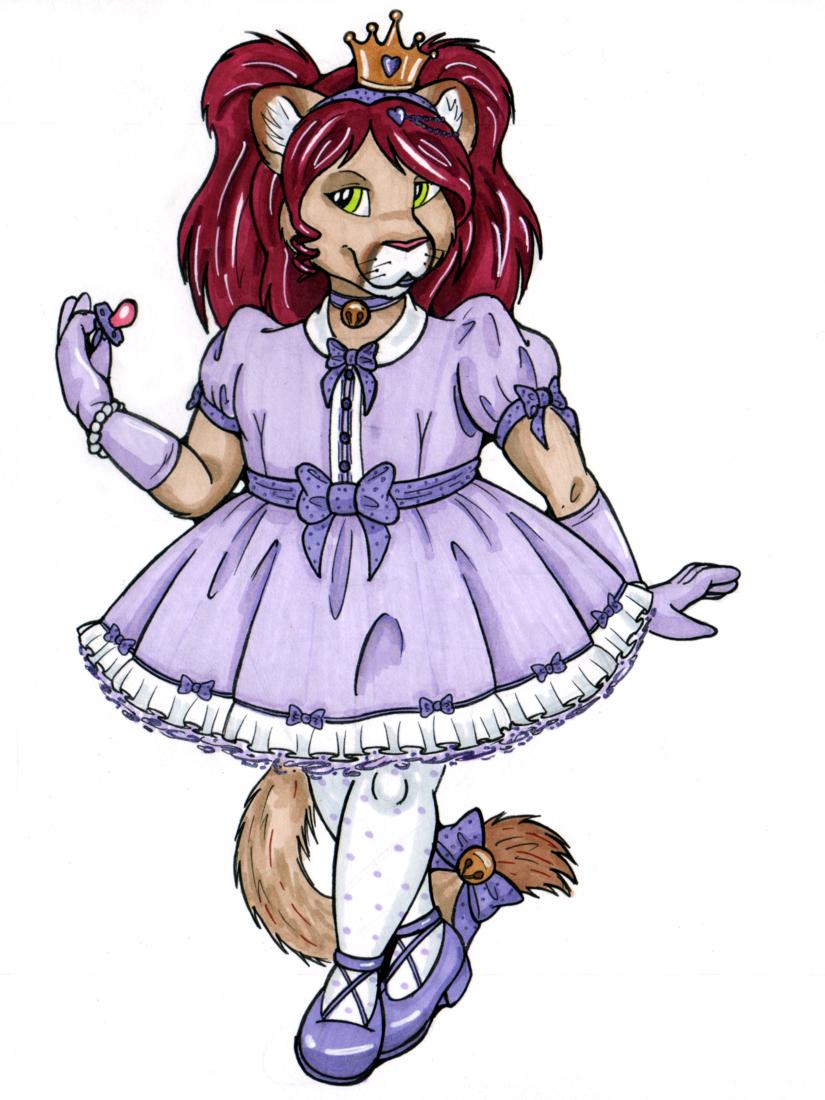 Princess bratty cat <3