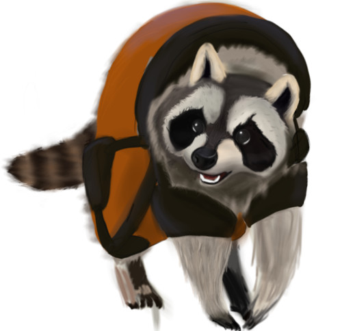 Rocket raccoon last WIP