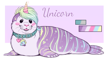 Unicorn Seal! SOLD!