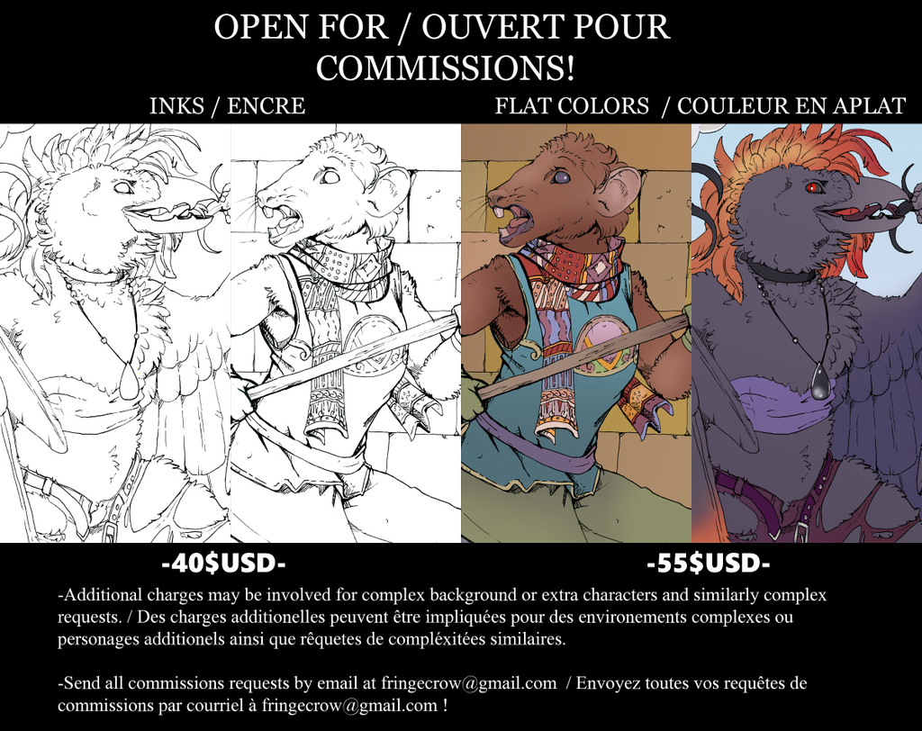Open for-Ouvert pour Commissions