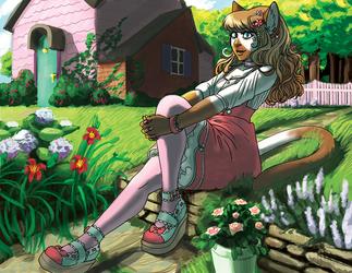 Garden lolita