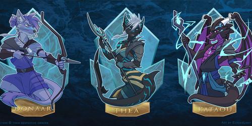 VF2016 Atlantis Badges