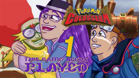 Pokemon Colosseum Title Card Art