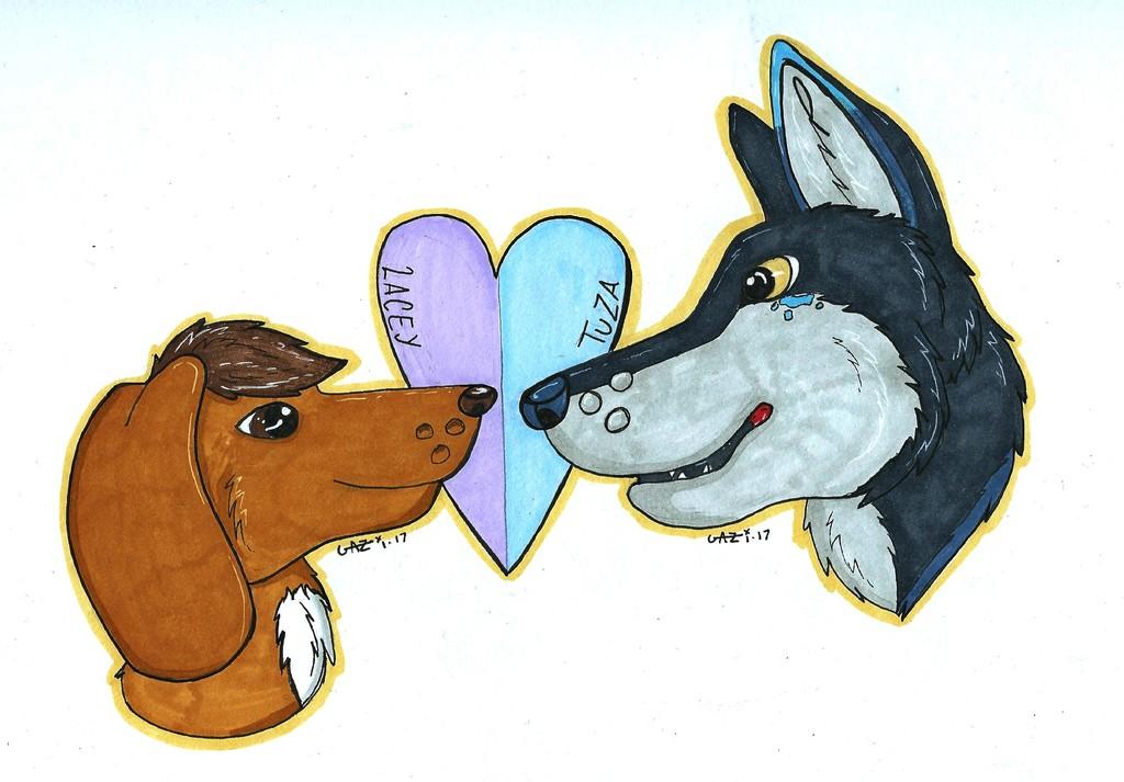 Valentine's Badges
