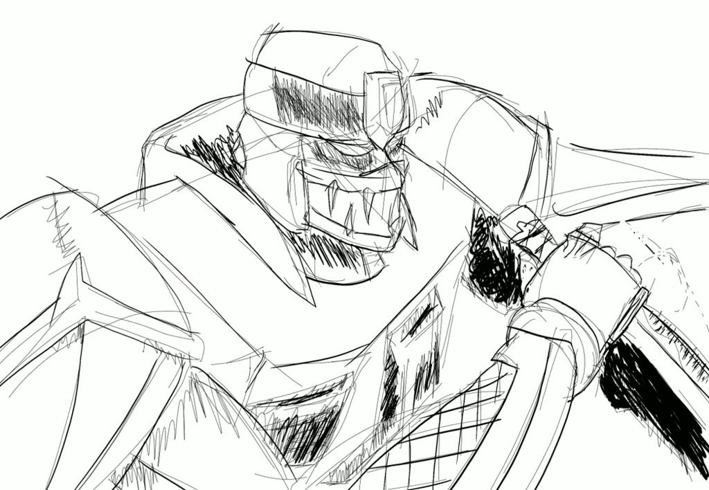 Sketch-A-Day: 影主人