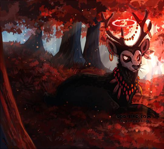 autumn deity