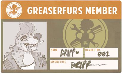 Greaserfurs badge!