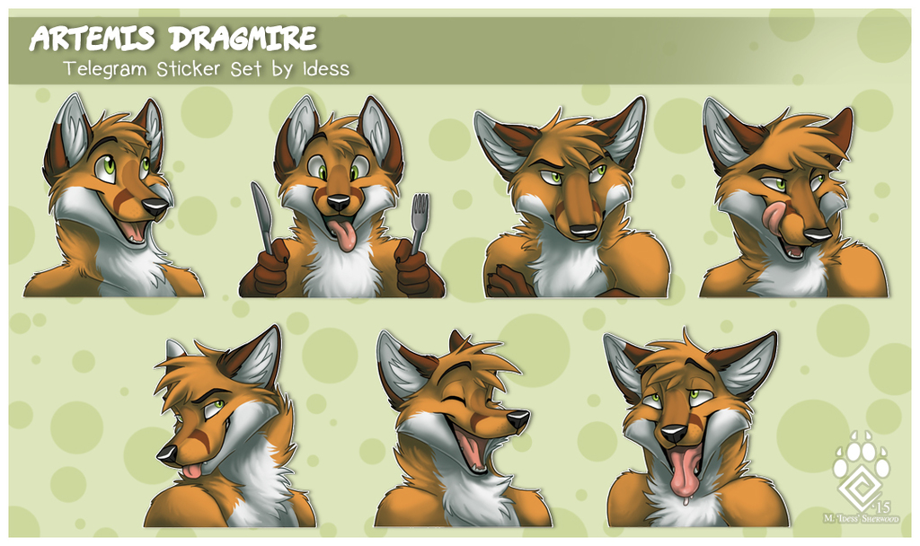 Artemis Telegram Stickers