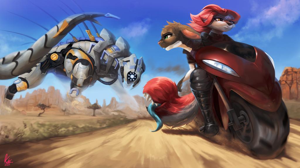 The Behemoth Cometh - By Kite512