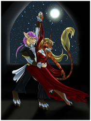 .: Dancing in the Moonlight :. - Commission for Anbessa