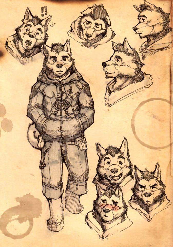 Caxton Cadwell Sketches Concept