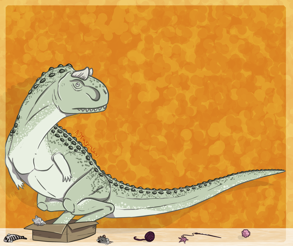 Carnotaurus and Box
