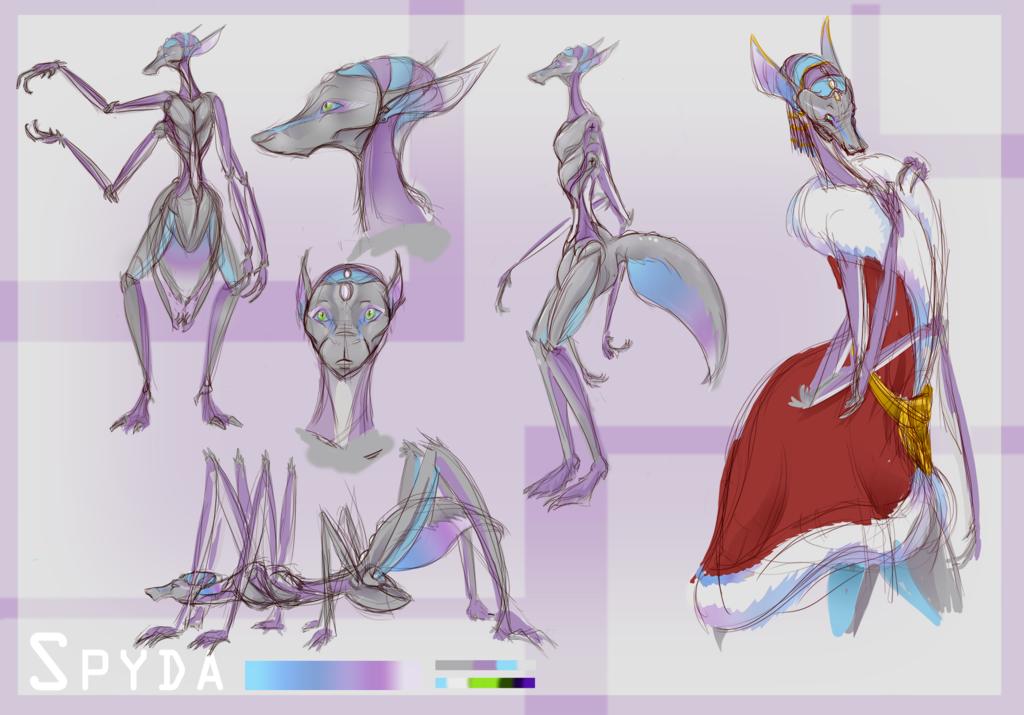 Spyda Character Ref