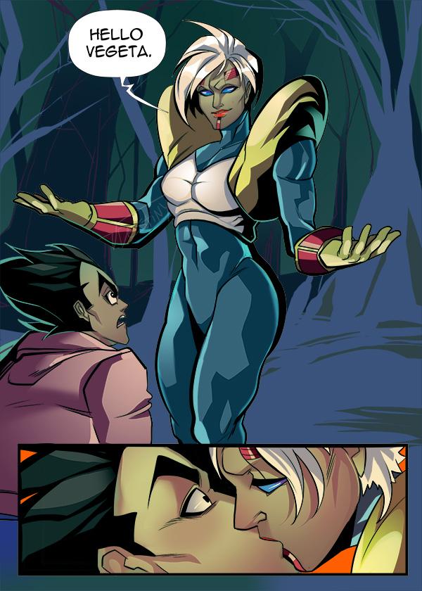 Bulma Posessed Baby Venom AU!