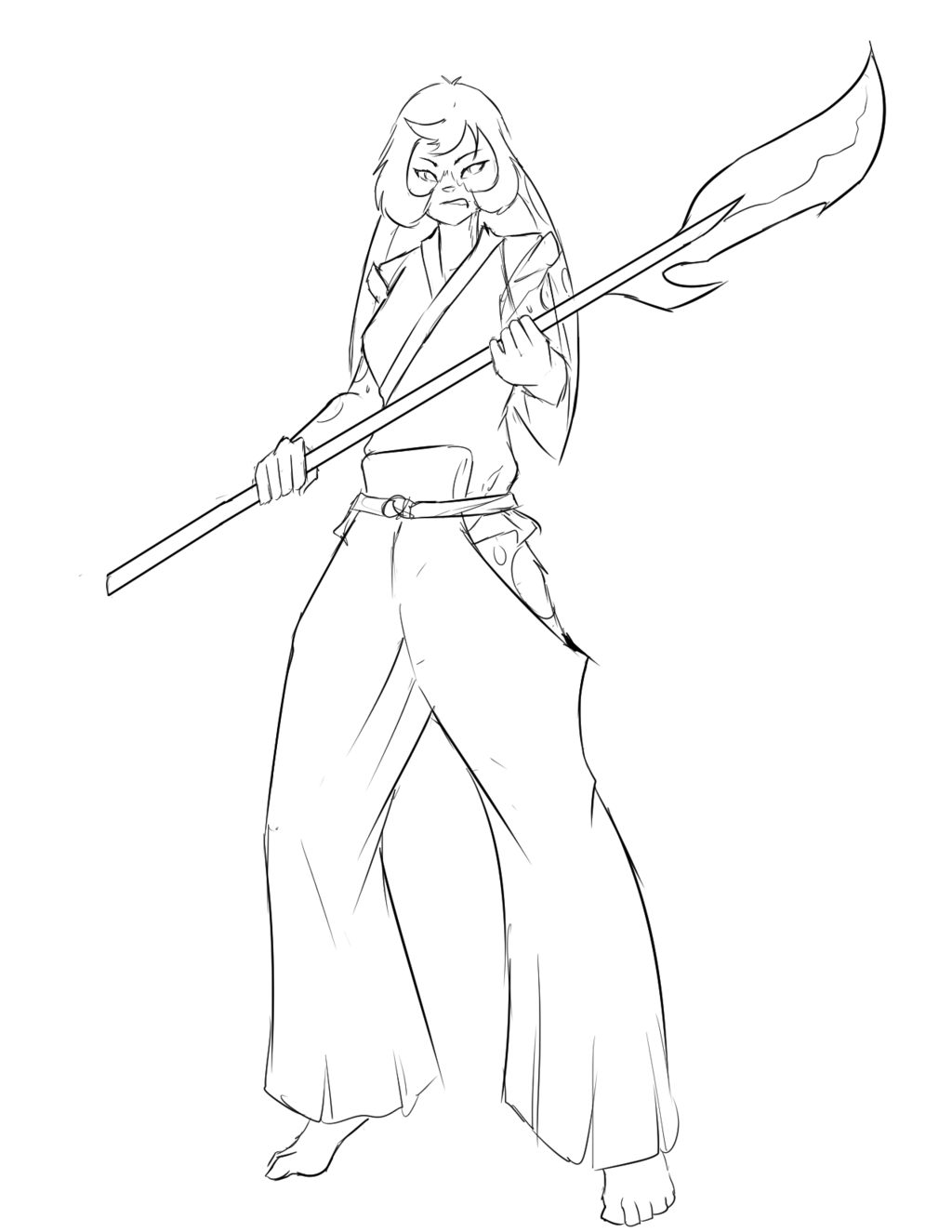 Warrior Lady TangoBunny!