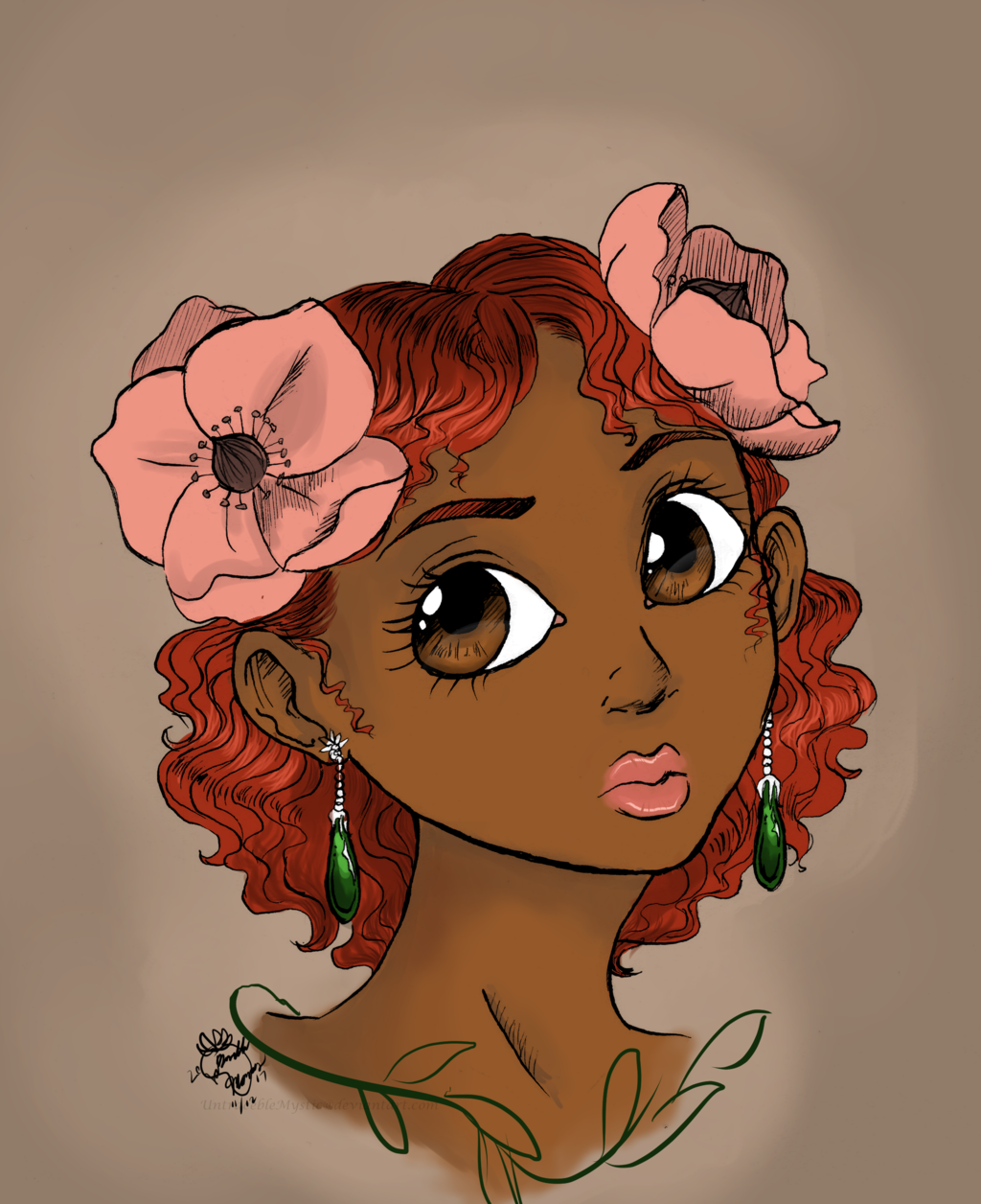 Most recent image: My floral girl