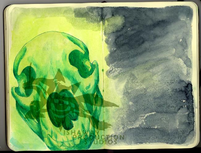 Journal II - Skull
