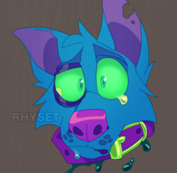 Blue's Head