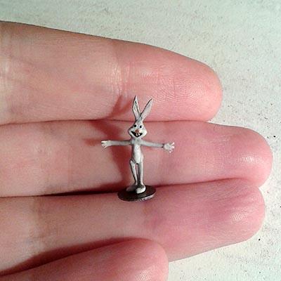 Tiny Bugs Bunny wants to hug you