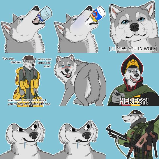 Opekun Sticker Set #2