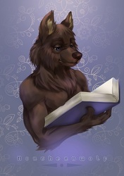 Northernwolf - Halfbody Bookplate [C]