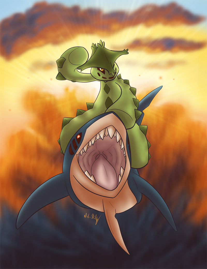 Spikes on a Sharpedo (2014)