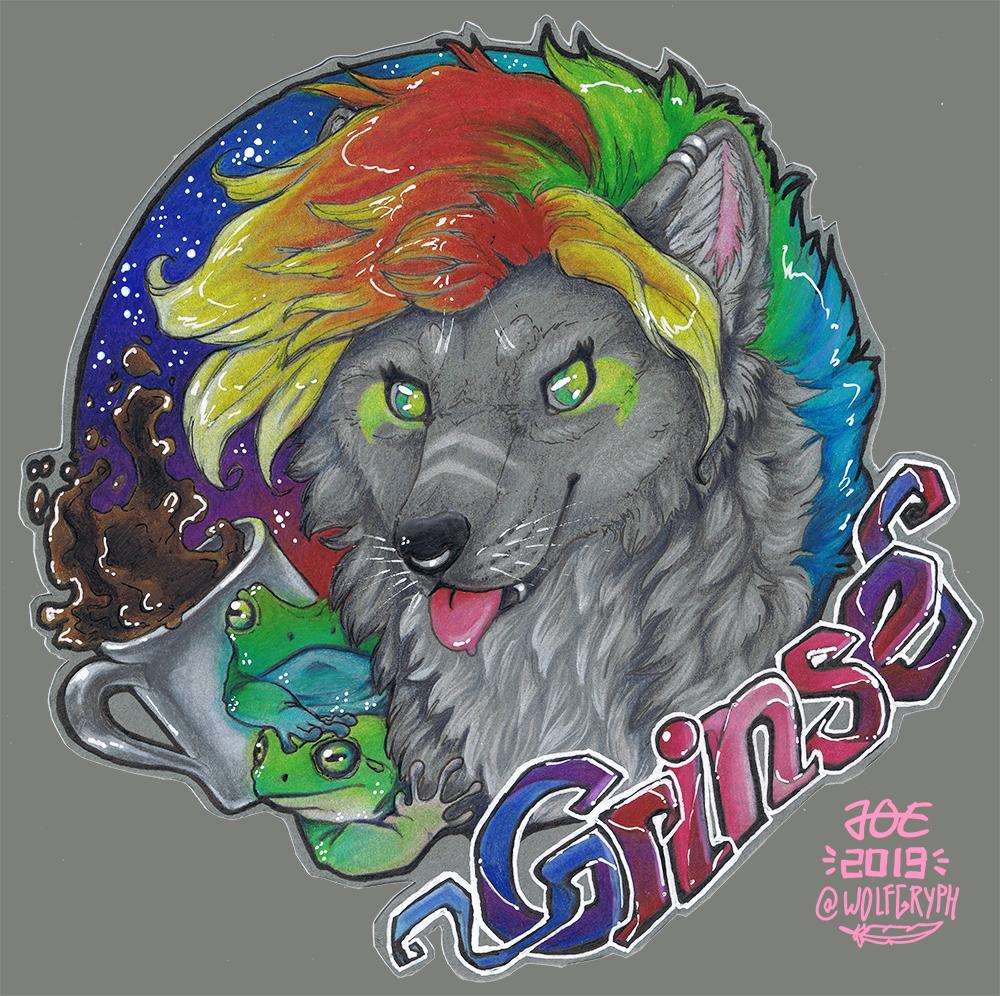 Badge Trade - Grinse