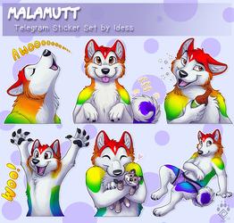 Malamutt Telegram Stickers