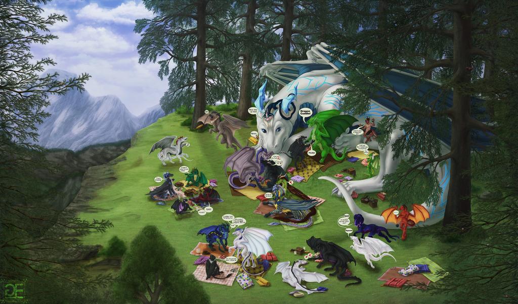 When Dragons Meet [Dragon Cuddle] (text)