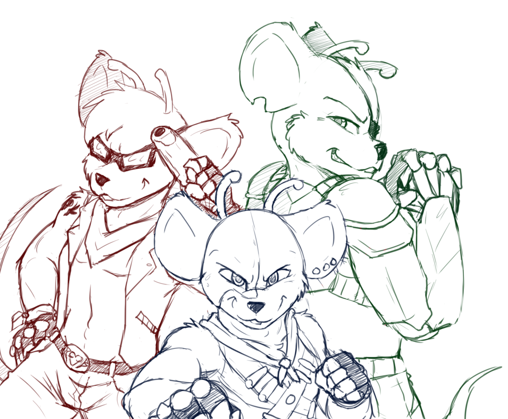 Most recent image: Biker Mice from Mars!