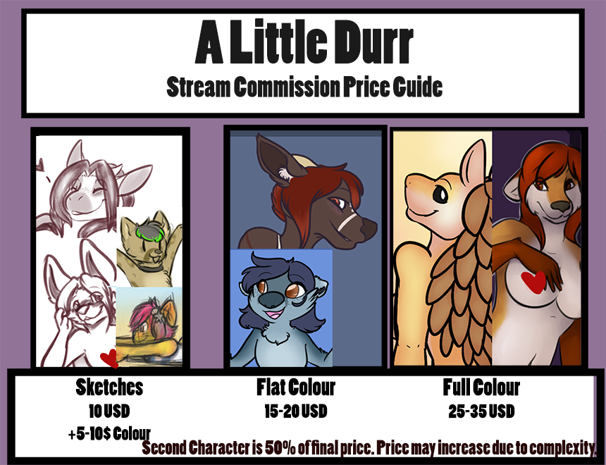 Stream Commission Prices