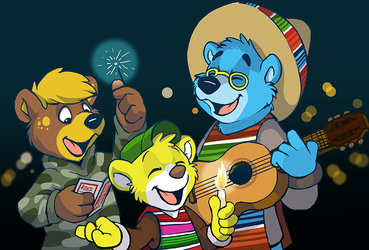 The beach bears: Las posadas