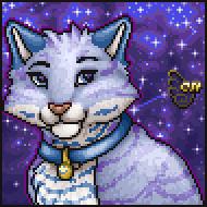 Pixel Portrait - Club Nimbus - Cat (♂)