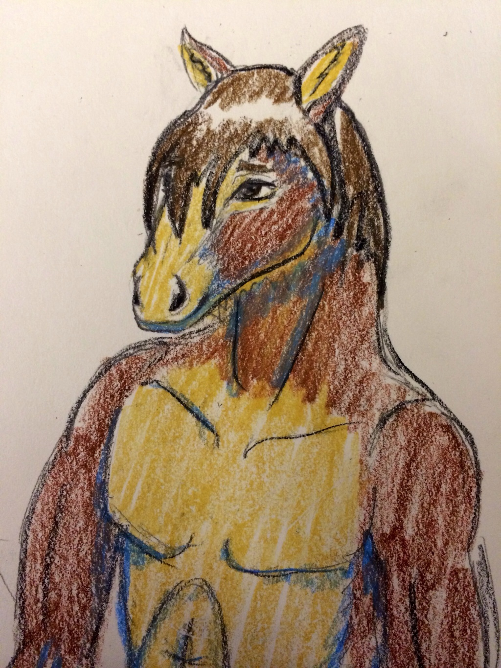 Clydesdale anthro for Rory!
